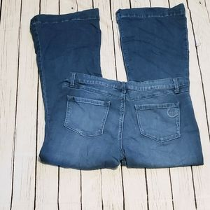Hot In Hollywood Jeans Size Large soft boot blue